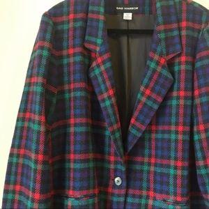 Sag Harbor Vintage Bold Colored Blazer Jacket R